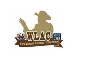 LMA WLAC SINCE 1963 WORLD LIVESTOCK AUCTIONEER CHAMPIONSHIP