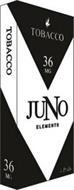 JUNO ELEMENTS TOBACCO 36 MG 4 PODS