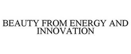 BEAUTY FROM ENERGY AND INNOVATION
