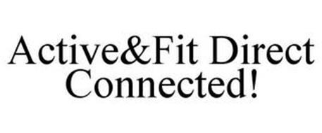 ACTIVE&FIT DIRECT CONNECTED!