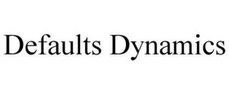 DEFAULTS DYNAMICS