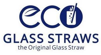 ECO GLASS STRAWS THE ORIGINAL GLASS STRAW