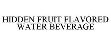 HIDDEN FRUIT FLAVORED WATER BEVERAGE