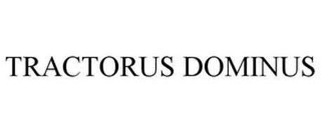 TRACTORUS DOMINUS