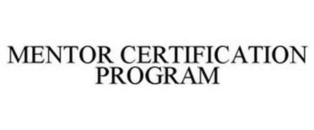 MENTOR CERTIFICATION PROGRAM