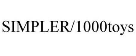 SIMPLER/1000TOYS
