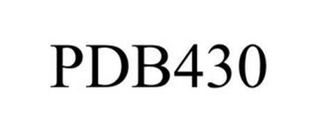 PDB430