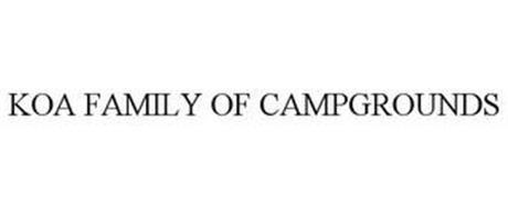 KOA FAMILY OF CAMPGROUNDS