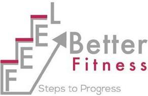 FEEL BETTER FITNESS STEPS TO PROGRESS