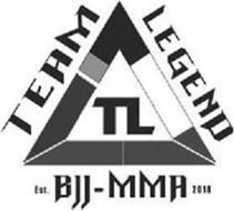TEAM LEGEND BJJ-MMA TL EST. 2018