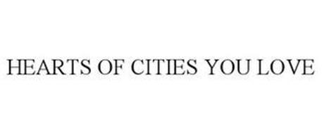 HEARTS OF CITIES YOU LOVE
