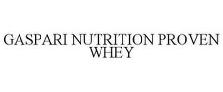 GASPARI NUTRITION PROVEN WHEY
