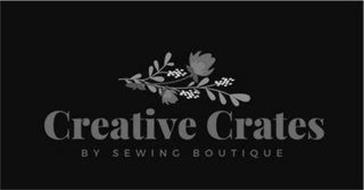 CREATIVE CRATES BY SEWING BOUTIQUE