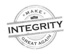 MAKE INTEGRITY GREAT AGAIN
