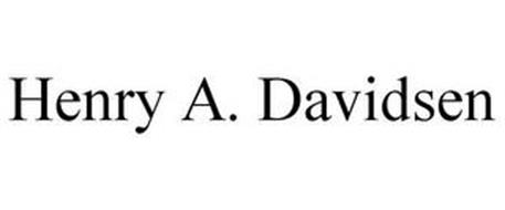 HENRY A. DAVIDSEN