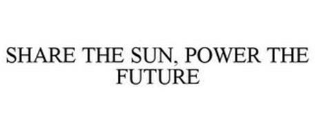 SHARE THE SUN, POWER THE FUTURE