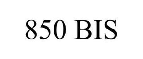 850 BIS