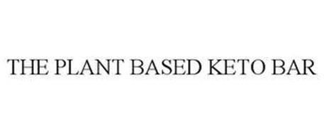 THE PLANT BASED KETO BAR