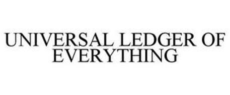 UNIVERSAL LEDGER OF EVERYTHING