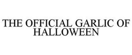 THE OFFICIAL GARLIC OF HALLOWEEN