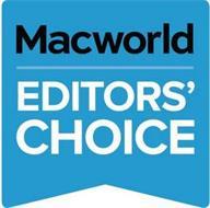 MACWORLD EDITORS' CHOICE