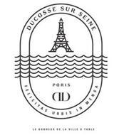 DD DUCASSE SUR SEINE PARIS FELICITAS URBIS IN MENSA LE BONHEUR DE LA VILLE A TABLE