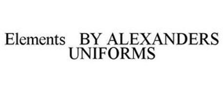 ELEMENTS BY ALEXANDERS UNIFORMS