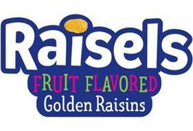 RAISELS FRUIT FLAVORED GOLDEN RAISINS