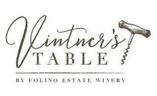 VINTNER'S TABLE BY FOLINO ESTATE WINERY