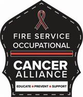 FIRE SERVICE OCCUPATIONAL CANCER ALLIANCE EDUCATE · PREVENT · SUPPORT
