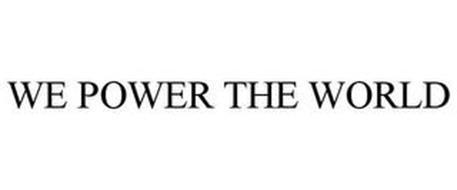 WE POWER THE WORLD