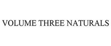 VOLUME THREE NATURALS