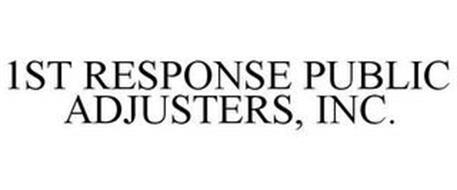 1ST RESPONSE PUBLIC ADJUSTERS, INC.