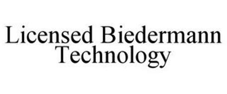 LICENSED BIEDERMANN TECHNOLOGY