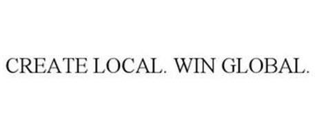 CREATE LOCAL. WIN GLOBAL.