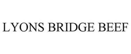 LYONS BRIDGE BEEF