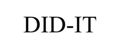 DID-IT