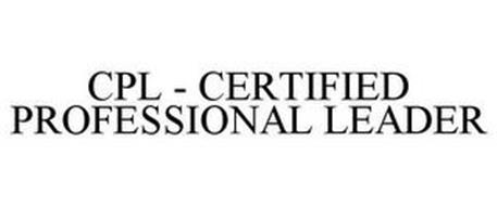 CPL - CERTIFIED PROFESSIONAL LEADER