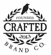 CRAFTED BRAND CO. FOUNDED 2013