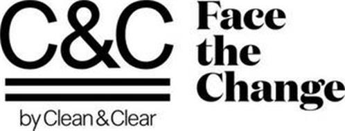 C&C BY CLEAN & CLEAR FACE THE CHANGE
