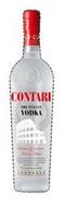 S ITALIA CONTARI THE ITALIAN VODKA SELECTION OF PREMIUM TUSCAN WHEAT A VODKA THAT RELEASES THE EXTRAORDINARY AND UNIQUE FRAGRANCES OF THE TUSCAN HILLS BATHED BY THE SUN, GIVES EACH MOUTHFUL A WEALTH OF FLAVORS DISTILLED FROM WHEAT HANDMADE
