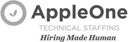 APPLEONE TECHNICAL STAFFING HIRING MADEHUMAN