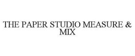 THE PAPER STUDIO MEASURE & MIX