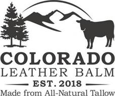 COLORADO LEATHER BALM EST. 2018 MADE FROM ALL-NATURAL TALLOW