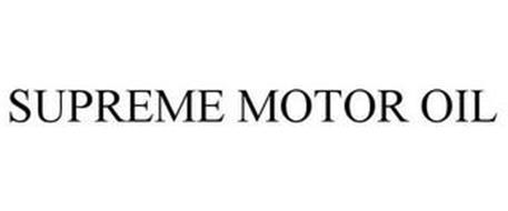 SUPREME MOTOR OIL