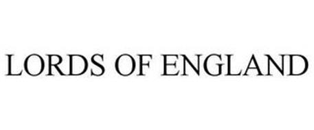 LORDS OF ENGLAND