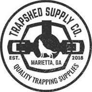 TRAPSHED SUPPLY CO. QUALITY TRAPPING SUPPLIES EST. 2018 MARIETTA, GA