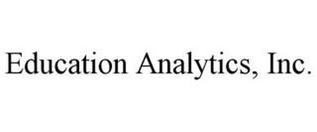 EDUCATION ANALYTICS, INC.