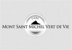 CIDRE MONT SAINT MICHEL VERT DE VIE