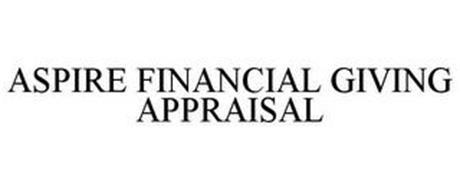 ASPIRE FINANCIAL GIVING APPRAISAL